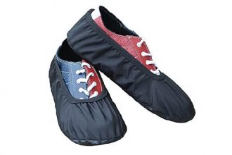 How to make bowling shoe covers in a few easy steps